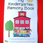 Kindergarten Memory Book (An End of School Year Activity)