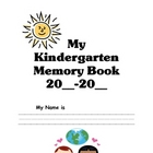 Kindergarten Memory Book JH