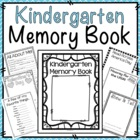 Kindergarten Memory Book {Printer Friendly}