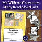 Kindergarten Mo Willems Author Study Unit Lesson Plan