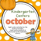 Kindergarten Monthly Centers October