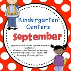 Kindergarten Monthly Centers September