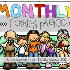 Kindergarten Monthly Family Projects (August - May)