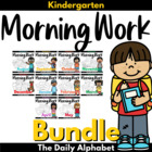 Kindergarten Morning Work Bundled