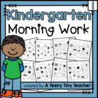 Kindergarten Morning Work {The Beginning}