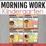 Morning Work for Kindergarten Common Core Bundle {4 Sets-