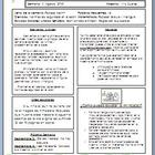 Kindergarten Newsletter Template in Spanish