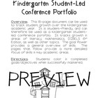 Kindergarten Portfolio/Kindergarten Student-Led Conference