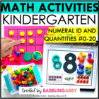 Kindergarten RTI: Number Sense #0-20