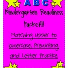 Kindergarten Readiness!!! Please remember to rate me!!