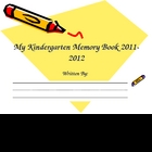 Kindergarten Reflection/Memory Book