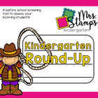 Kindergarten Round Up... a before school screening