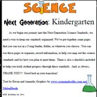 Kindergarten Science Common Core