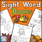 Kindergarten Sight Word Books for Fall--2 Books, 16 pages