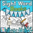 Sight Word Books for Winter (Paste, Trace, and Write)