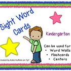 Kindergarten Sight Words 1