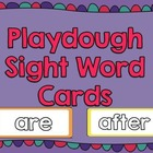 Kindergarten Sight Words- Playdough Words
