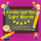 Kindergarten Sight Words Powerpoint for the Year {BUNDLE}