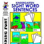 Kindergarten Sight Words Sentences
