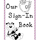 Kindergarten Sign In Book