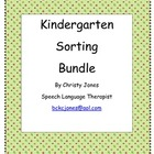 Fall Kindergarten Sorting Bundle