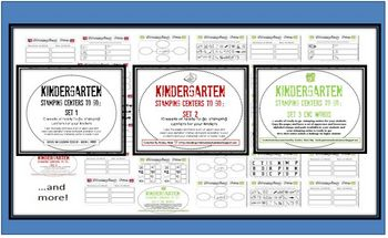 http://www.teacherspayteachers.com/Product/Kindergarten-Stamping-Centers-Bundle-Ready-to-Go-for-the-Entire-Year-209072