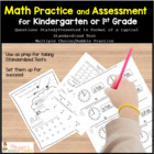 Kindergarten Standardized Test Practice for the &quot;Un-Common