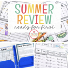 Kindergarten Summer Homework {Editable}