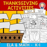Kindergarten Thanksgiving Parent Letter, Project/Craft and