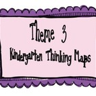 Kindergarten, Theme 3 Literacy By Design Graphic Organizers