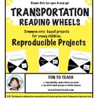 Kindergarten Transportation Reading Wheels
