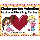 Kindergarten Valentine Love Math and Reading Centers