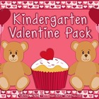 Kindergarten Valentine Pack ~ Printables + Game Cards Pre-K/K