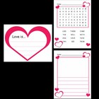 Kindergarten Valentine's Day Writing Activities / Worksheets