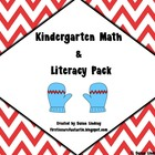 Kindergarten Winter Math & Literacy Centers