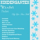 Kindergarten Winter Packet