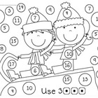 Kindergarten Winter Wonderland Math Worksheets and Games