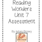 Kindergarten Reading Wonders Unit 7 Assessment