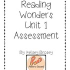Kindergarten Reading Wonders Unit 1 Assessment