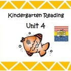 Kindergarten Wonders Unit 4 (Bundled)