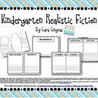 Kindergarten Writing Realistic Fiction Books-Common Core