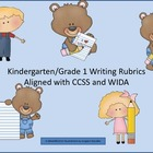 Kindergarten Writing Rubric  Aligned with CCSS and WIDA