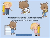 K-1 Writing Rubric  Aligned with CCSS and WIDA