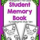 Kindergarten or First Grade Memory Book