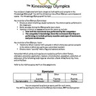 Kinesiology Olympics