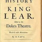 King Lear - an interactive text