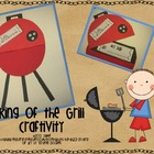 King of the Grill {Father&#039;s Day Craftivity}
