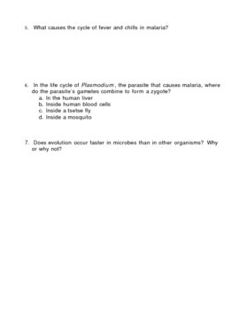Kingdom Protista - Protists Homework Assignment 3