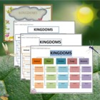 Kingdoms Graphic Organizer