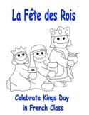 King's Day Celebration for French Class:  Reading and Recipe